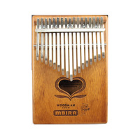 Professional easy to learn and portable musical instruments 17 key kalimba new style hiah quality kalimba thumb piano