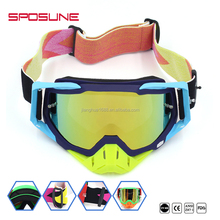 Manufacturer wholesale UV400 protective cross-country motorcycle tear offs goggle