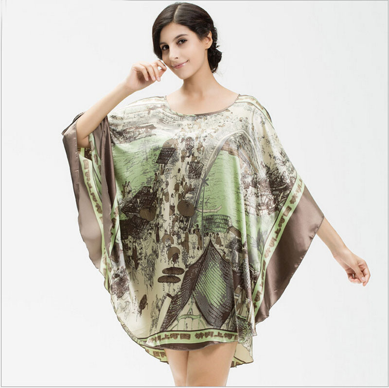 Cheap Long Silk Night Gown, find Long Silk Night Gown deals on line ...