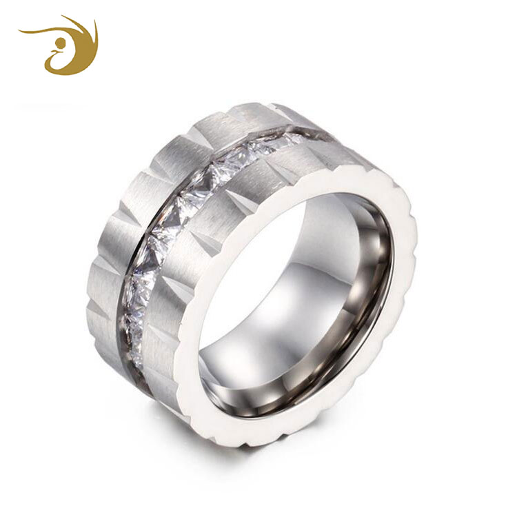 Oem Classic Style Stainless Steel Rings Bands Designs For Men And Women