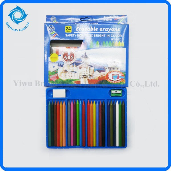 24 grease warna krayon pensil