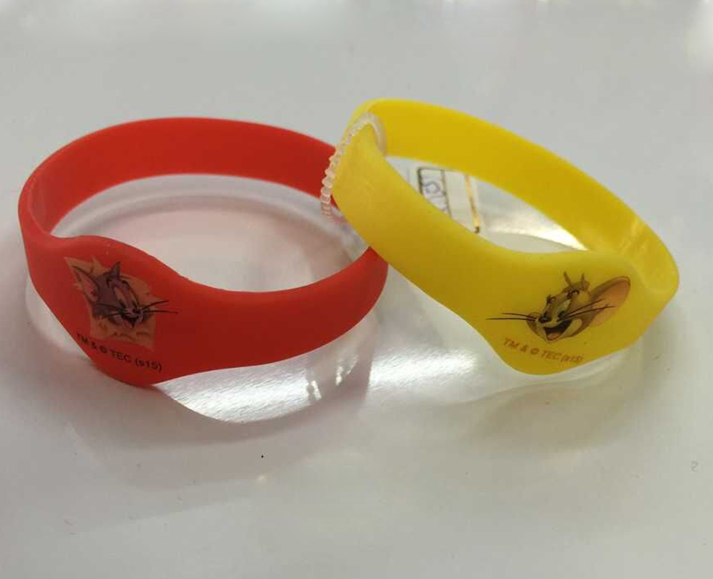 promotional silicone watch bracelet for kids