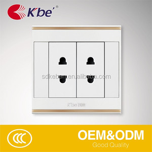 A13 series 4 hole wall socket 10A