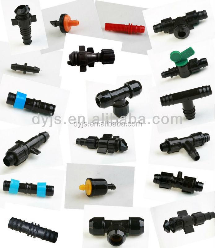 Goteo accesorios para el sistema de riego goteo cintas - Accesorios de riego ...
