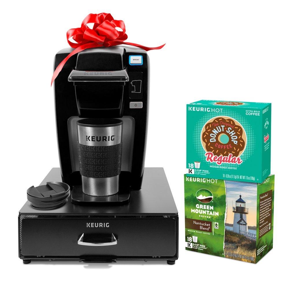 Buy Keurig K15 Single Serve Coffee Maker Holiday Bundle With 36 K