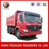 Used sinotruk HOWO a7 6x4 20 cubic meters 25 ton tipper dump truck for sale in dubai
