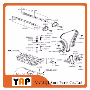 Detail Feedback Questions about 4M40 NEW TIMING CHAIN KIT