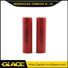 Glace 3.7v wholesale price 3000mah 18650 li-ion high drain battery