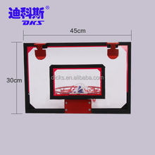 New Design Bulk Sale Mini Basketball Board Colored Red