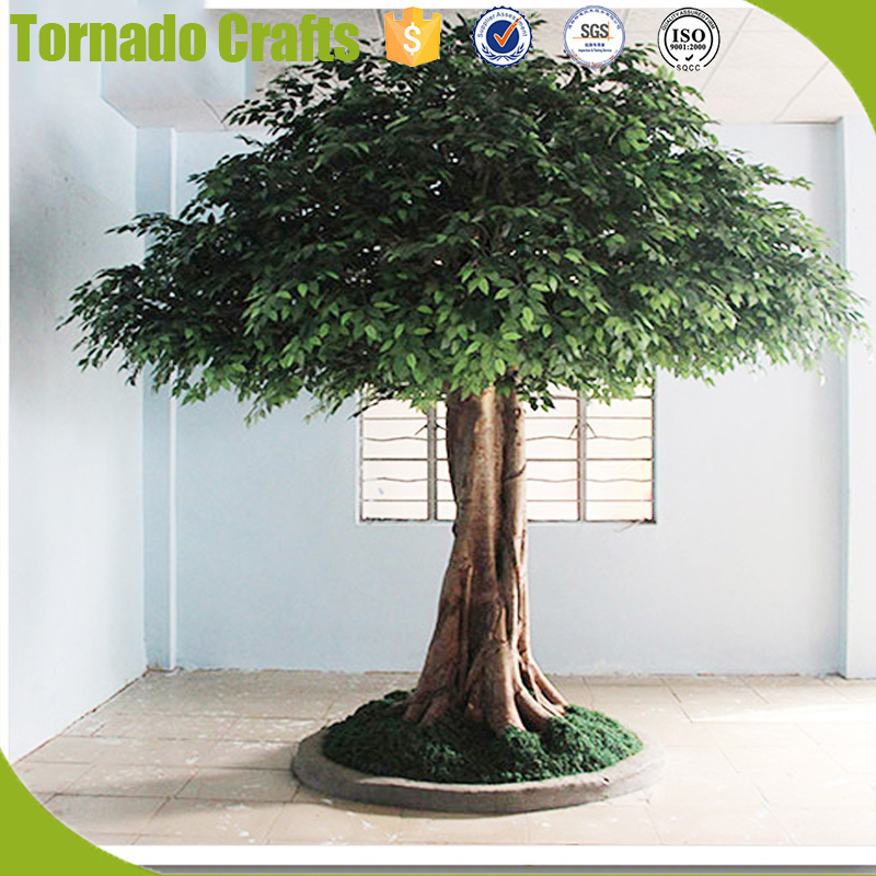 2017 Large Factory Outdoor Artificial Trees Life Size Big Ficus Trees WholeSale