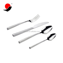 Large Crude Stick Handle Stainless Steel 304 Baby Spoon And Fork