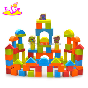 Wooden Building Blocks Toy For Kidscreative Wooden Toy Blocks For
