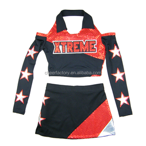 2018 cheerleading outfits uniforms cheer clothes cheer dance costumes