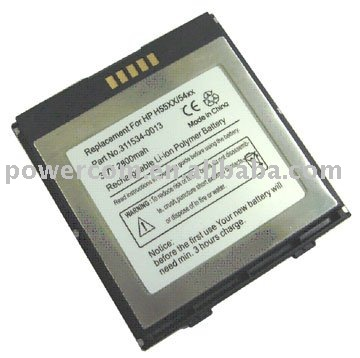 For PDA battery HP.iPAQ 5400