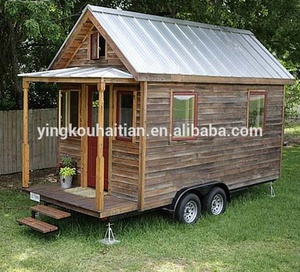 Fast Build prefabricated Wooden House Log Homes timber Cabins Leisure Huts low cost prefab kitchen bathroom tiny house on wheels