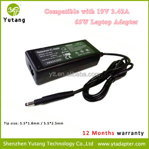 Replacement 65w Trademark Laptop Charger with 5.5*1.8mm output 19v 3.42A