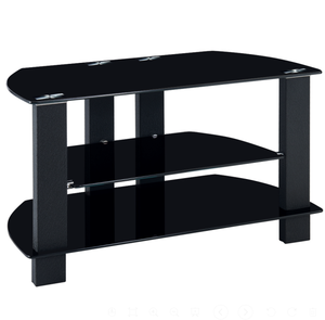2018 Round tv stand with tempered glass top