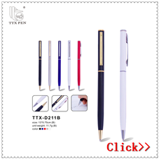 2017 New Design High Quality Best Black Metal Brass Pen for Christmas Gift