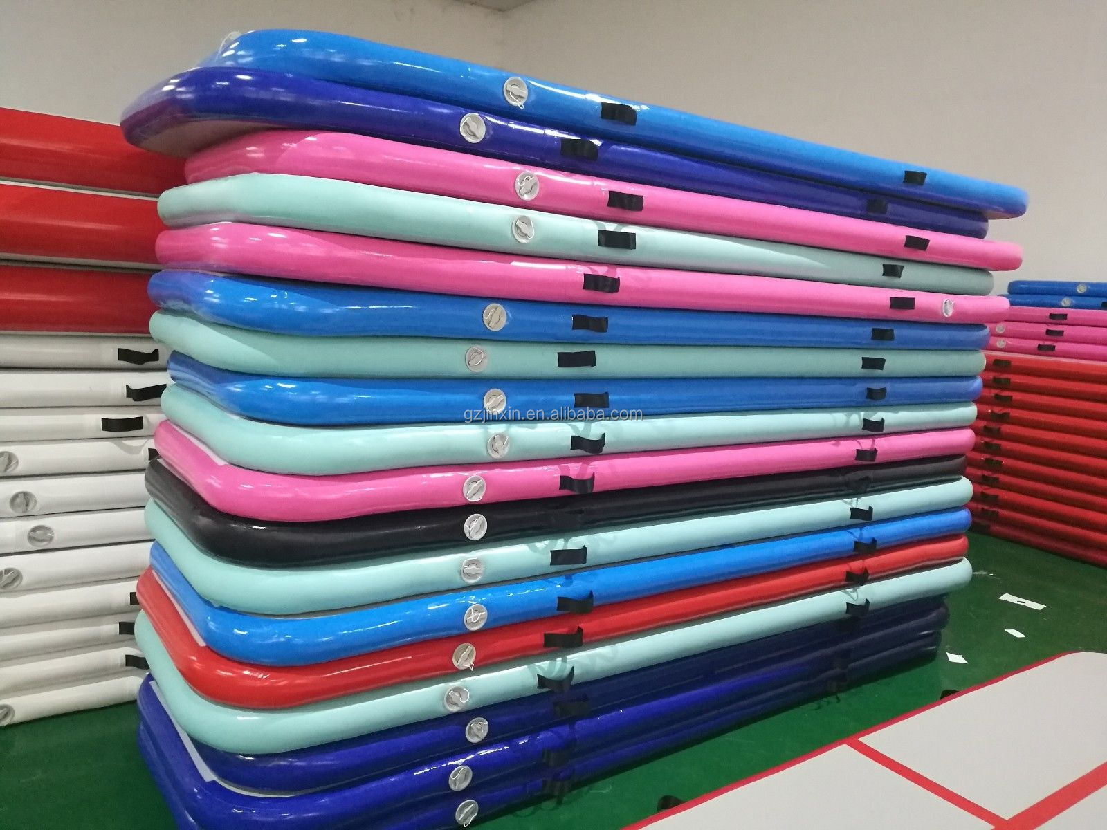 Gymnastics Fitness Equipment Inflatable Airtrack Tumble Yoga Taekwondo Mats 6m Outdoor Used Gym Mat For Tumbling