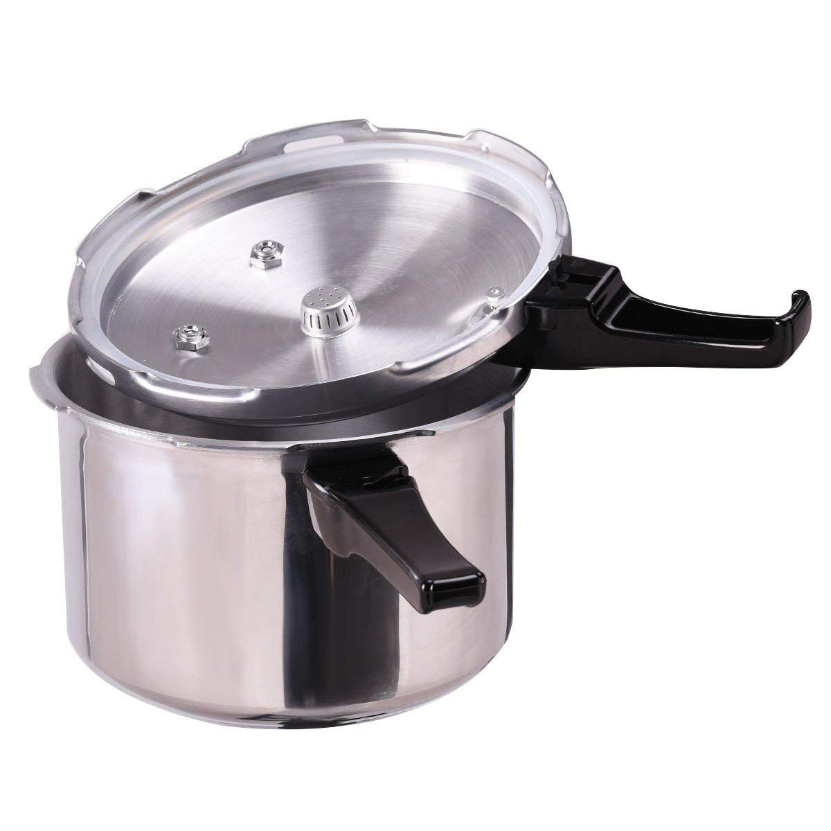 MyEasyShopping Durable Multi-function Block-Proof 6-Quart Aluminum Kitchen Pressure Cooker Canner