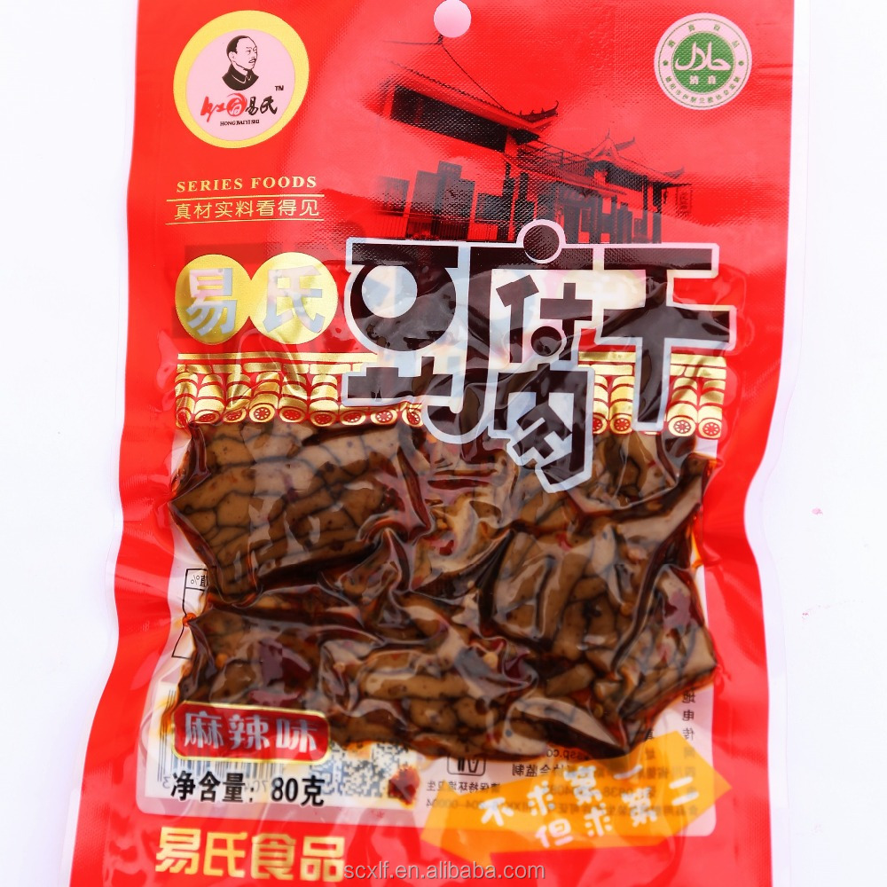 80g Dried Bean Curd Tofu, 6 kinds of flavors