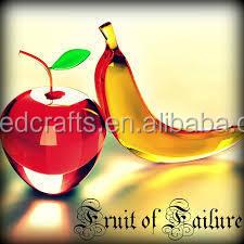 Cualquier Color Antiguo Cristal Artificial Frutas Y Hortalizas