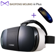 Original BaoFeng MoJing iii Plus With Remote Control Versions View 3D Virtual Reality Goggles Compitible 4.7 – 6.0 inch phone
