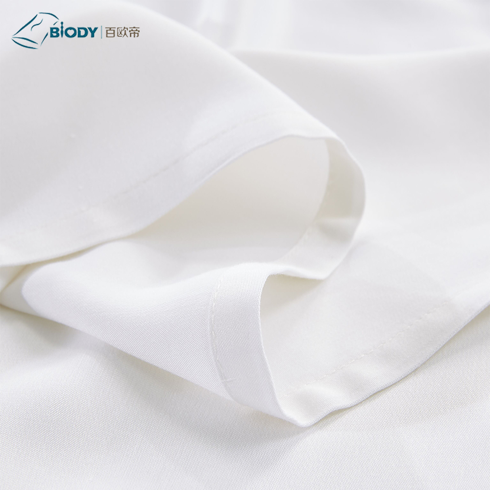 Made in China Summer Luxury Soft Silky 100% Bamboo 300TC Bed Sheet Set