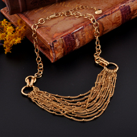 Fantasy Summer Hot Design Multilayer Chain Necklace For Gift