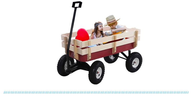 Wholesale cheap custom kids garden wagon cart