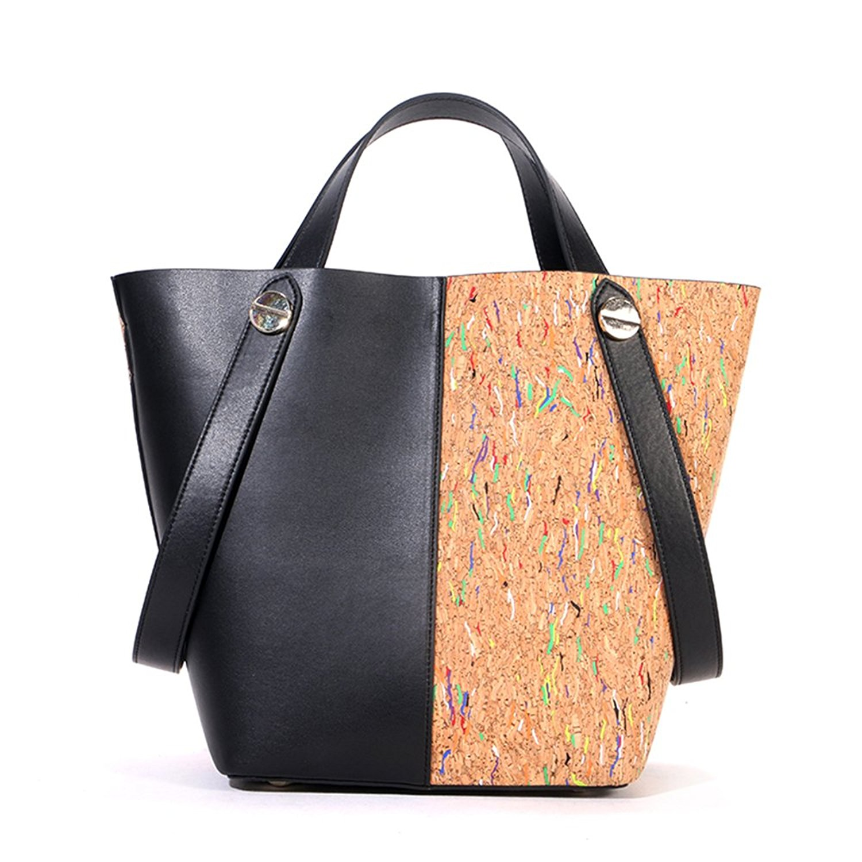 Get Quotations · Cork Handbags,Shinmax Shopping Bags Pocket Bag for Womens  ladies Top cork tote handbags 1cbe22485c