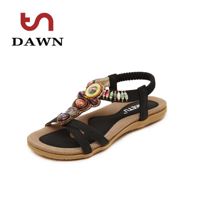 Sandales Ethniques Perles