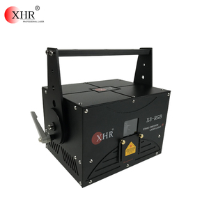 XHR 2018 NEW SD stage laser 3W RGB full color pure diode DJ disco text laser show light