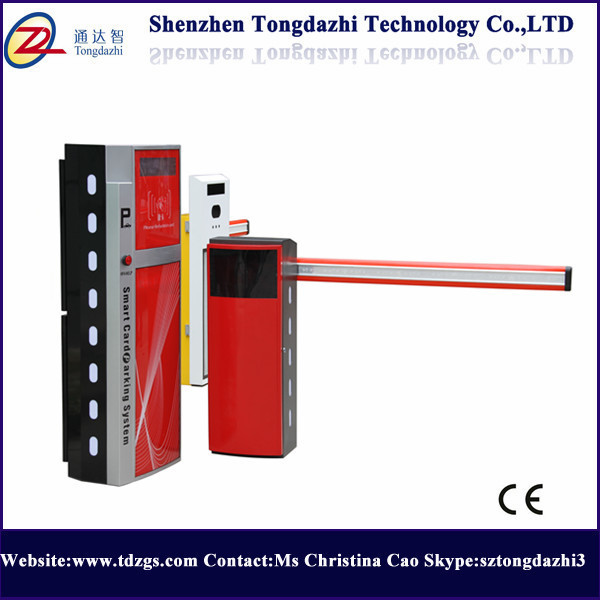 Electronic Security Access Control Road Automatic LED Arm Barrier Gate