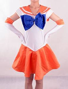 07138bcb27c Get Quotations · Inspired by Sailor Moon Sailor Venus Cosplay Costumes