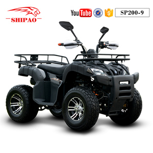 SP200-9 Shipao durable 200cc cvt utility quad bike atv