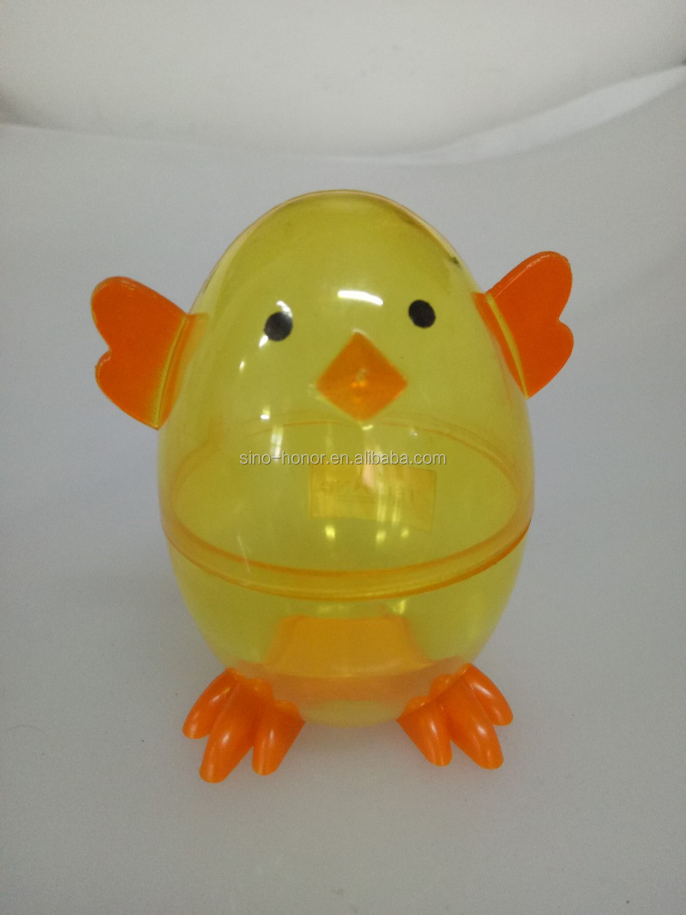 plastci easter chick egg decoration candy box