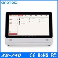 "China Brand new 14"" touch screen POS system ,POS all in one ,POS machine(XB-740)"