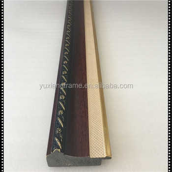China Manufacturer Antique Wood Fancy Design Ps Picture Frame