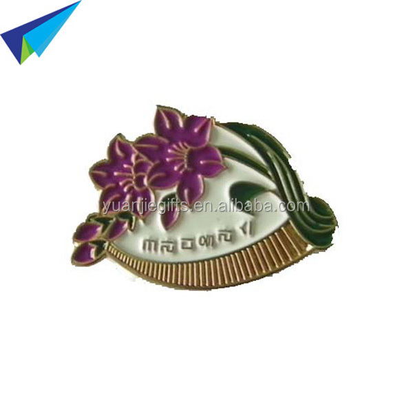 Custom Zinc Alloy Metal Lapel PinMetal badge/Metal Lapel Pin Badge Raised Metal Lapel Pin