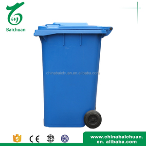 Standing Stylish garbage recycle bins kitchen mobile