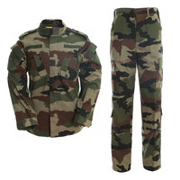Customized Hunting Clothing Outdoor Camo Jacket French Camo Military Uniforms