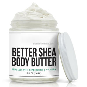 2018 Newest Product Whipped Body Butter Infused With Peppermint Vanilla And Green Tea