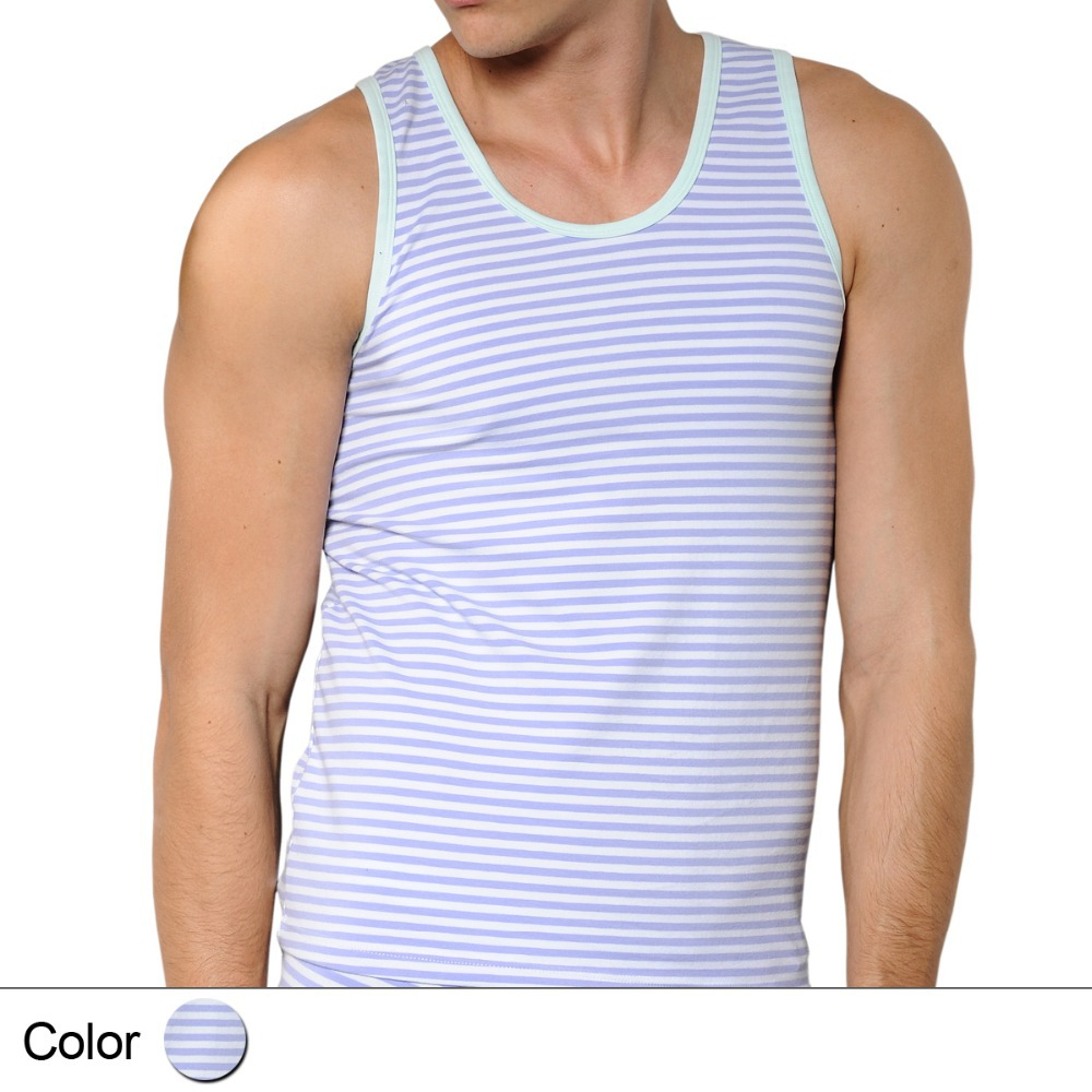 Stay Cool and Casual in Mens Tank Tops. Mens tank tops are sleeveless shirts commonly worn during summertime. They're casual wear for outdoor activities like leisure strolls on sunny days, attending sports events, and exercising.