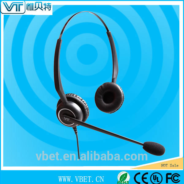Ultra Noise canceling Over The Head Headsets with Voice Tube Wideband VoIP for optimal voice and audio performance