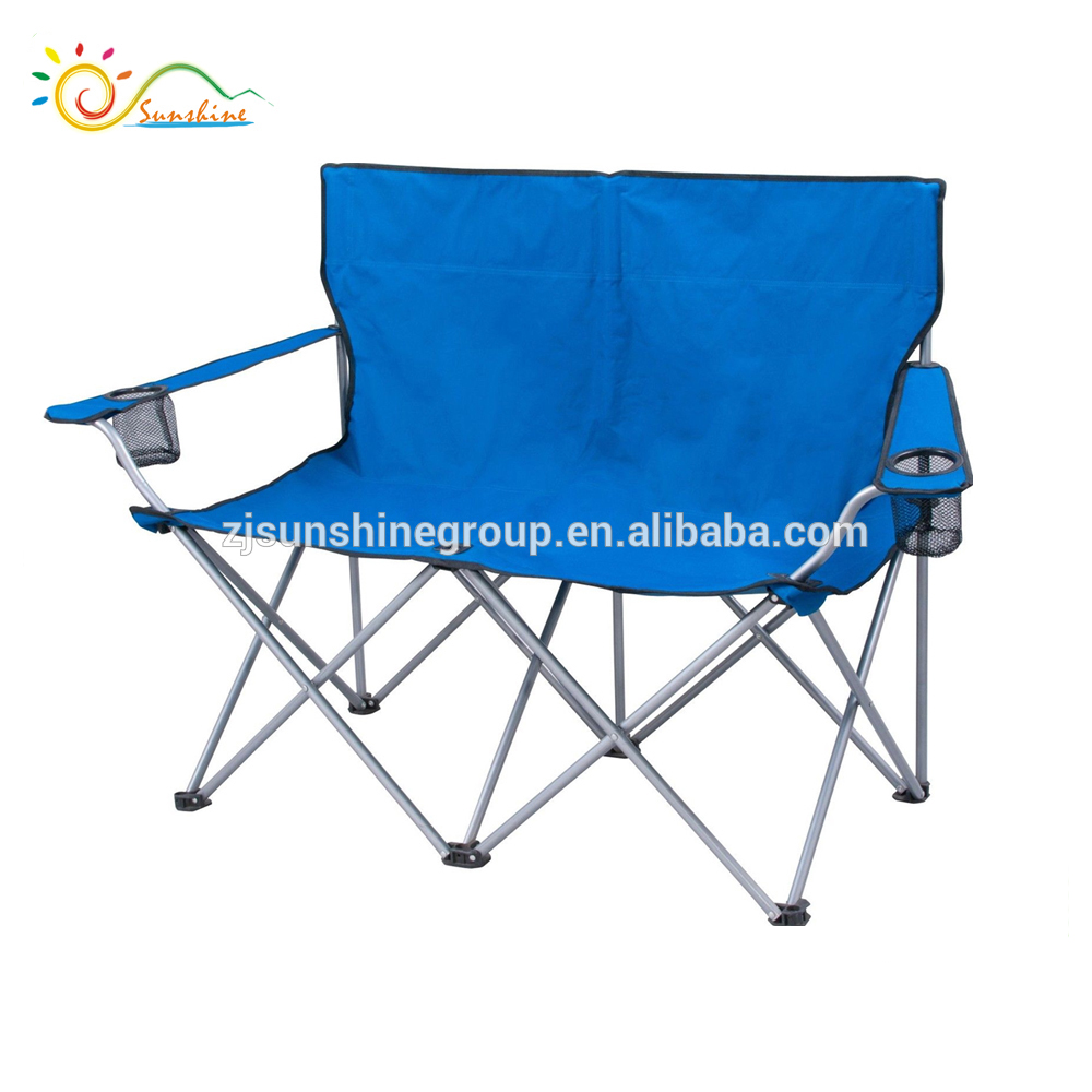 Heated Camping Lightweight Folding Beach Chair 2 Person