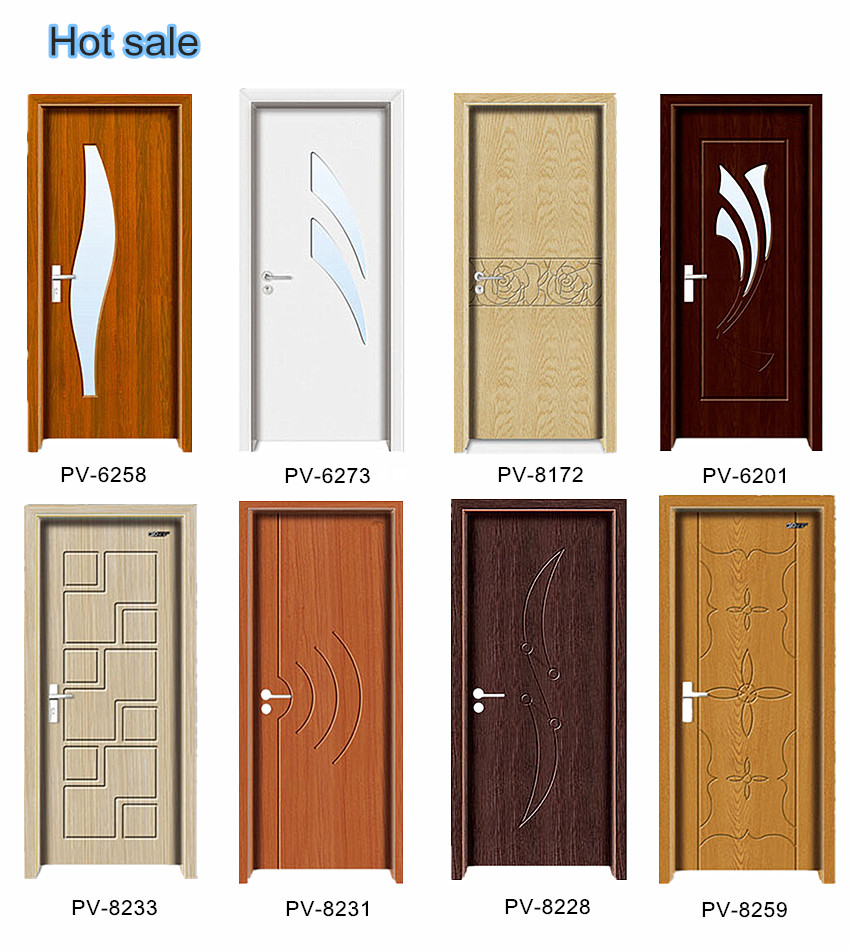 High quality interior door pvc bathroom door price buy for Door design in pakistan