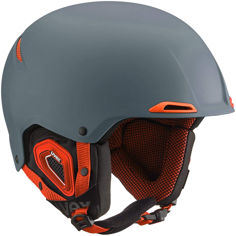 Uvex JAKK+ Octo Winter Sports/Ski Helmet - 566182 (grey-orange mat - 52-55)
