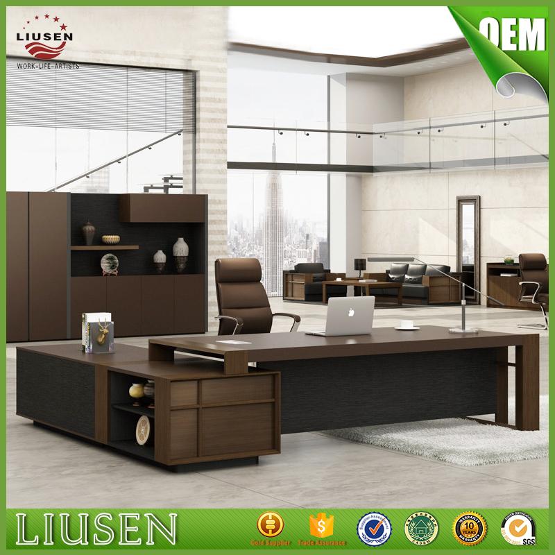 Venta al por mayor mesa de oficina de madera maciza-Compre online ...