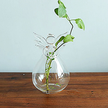 Decoratieve Plant Decor Light Angel Vaas Met <span class=keywords><strong>Mos</strong></span> En River Rocks